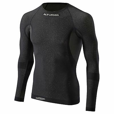 Altura Thermocool Long Sleeve Baselayer Jersey For Cycling Black Size S M 63d14fa82