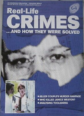 Real-Life Crimes magazine Issue 64 -  Killer Couple's Murder Rampage