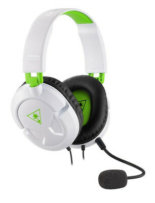 Turtle Beach Ear Force Recon 50X Stereo Gaming Headset White 3.5mm Jack