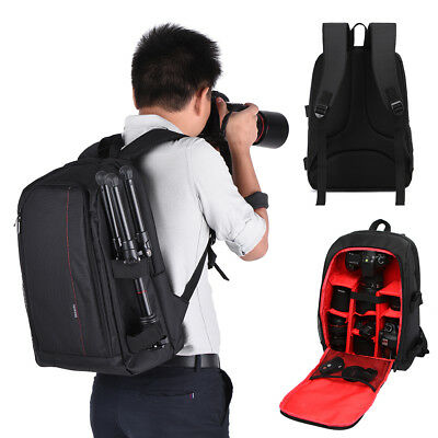 Large Multifunctional Travel Backpack Camera Dslr Bag Case For Canon/nikon/sony