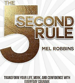 The 5 Second Rule by Mel Robbins Book NEW Free Post AU