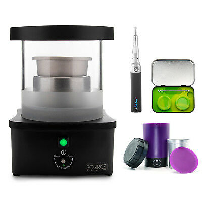 The Source Turbo by ExtractCraft, Decarboxylator, Wax Cutter and Concentrate Kit