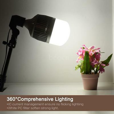 50W E27 Photography LED Bulb Light Lamp 5500K Daylight 99pcs Energy Saving P3F9
