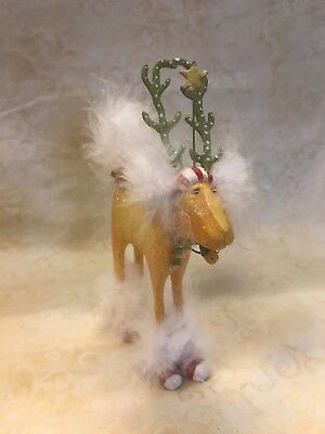 Department 56 CHRISTMAS KRINKLES - Dog Deer Ornament with Box