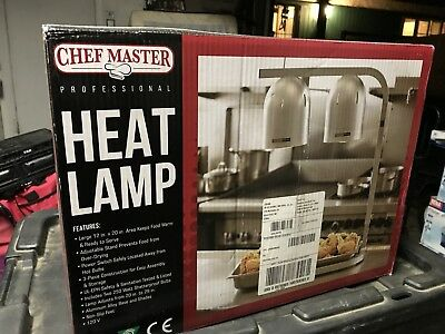 Chef-Master 90050 Professional Heat Lamp, Commercial Restaurant Food Warmer