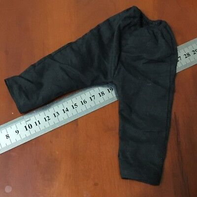 "1/6th Scale Black Pants Trouser Model Toy For 12"" Male Female Action Figure Doll"