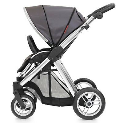 Oyster Max Vogue Slate With Bassinet = Brand New