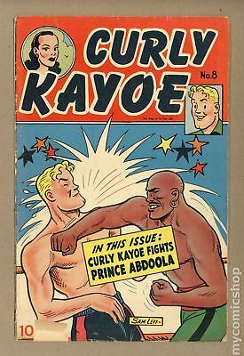 Curly Kayoe Comics #8 1950 GD+ 2.5