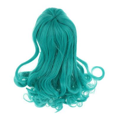 Curly Hair Doll Hair for BJD Blythe Doll's Wig Handcraft DIY Doll Wig Green