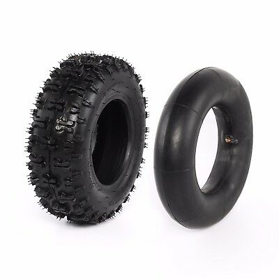 "Rear 4.10-6"" Tire 6 inch Tyres Inner Tube Wheel for Go Kart 2 Stroke ATV"