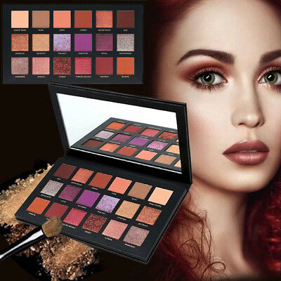 18 colori Matte Glitter Eyeshadow Makeup Shimmer Eye Shadow Palette Cosmetici