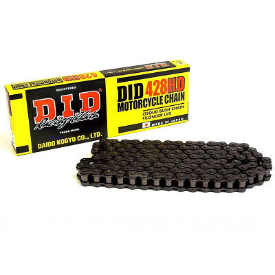 DID Heavy Duty Motorcycle Drive Chain 428H x 118 Links