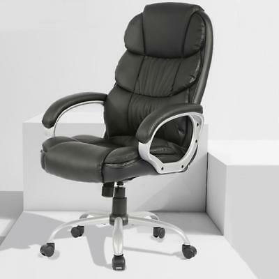 Office Desk Chair Ergonomic Swivel Executive Adjustable Computer Chair High Back