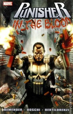 Punisher In the Blood TPB (Marvel) #1-1ST 2011 VF Stock Image