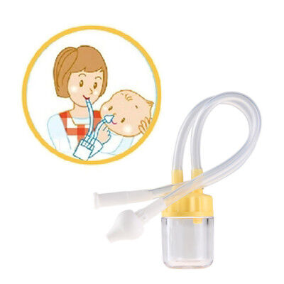 Born Baby Safety Nose Cleaner Vacuum Suction Nasal Aspirator Snot Nose Cleaner