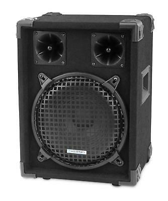 "Dj Pa Lautsprecher Disco Bass Party Box 25Cm (10"") Subwoofer 2-Wege System 400W"