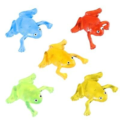 Soft Glue Squeeze Stretchy Frog Healing Toy Stress Relief Funny Novelty Joke