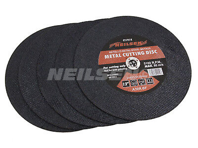 "Pack of 5 - 12 "" / 300 mm Abrasive Metal Cutting Disc Saw Blade"