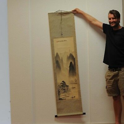 20C Chinese Scroll Painting/Print