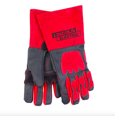 Lincoln Electric One Size Leather Welder Welding Gloves Heat Fire Resistant New