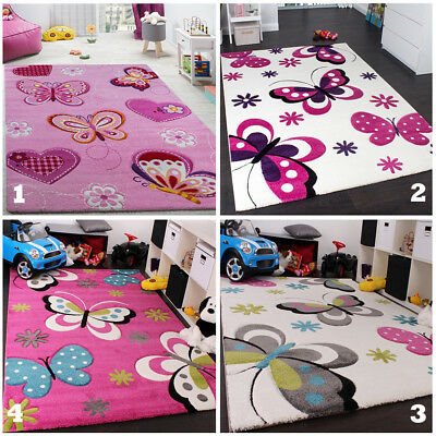 Nursery Rug Kids Bedroom Girls Rug Play Carpet Childrens Baby Mat Small Large XL
