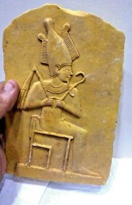 RARE ANCIENT EGYPTIAN ANTIQUE Ramses II 1279-1213 BC Stela