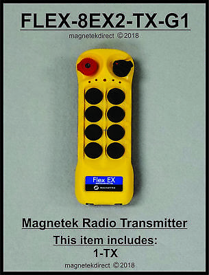 NEW - Magnetek FLEX-8EX2-TX-G1 Gen1 !  - Radio Remote Control unit 0-TXC-05
