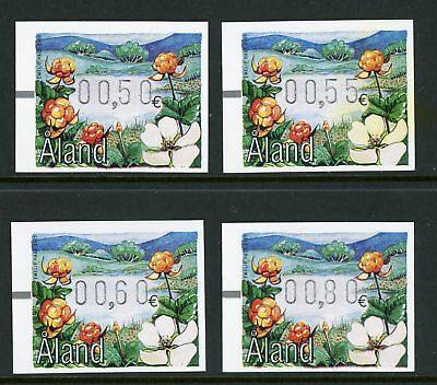 Aland Islands FRAMA ATM LABELS Berries of the Wood 3/1/2005 $$ (ALFR10)