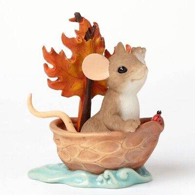 I Can See Beautiful Things Ahead Of Us  CHARMING TAILS Mouse Figurine #4046808