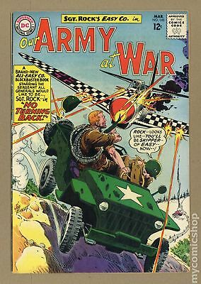 Our Army at War #140 1964 VG+ 4.5