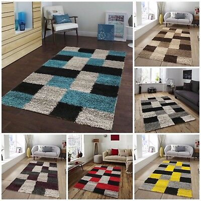 New Thick Quality Bright Modern Shaggy Rugs Cheap Luxury Mats Runners Large Rug