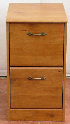 2 Drawer Filing Cabinet - French Garden - Antique Pine Effect