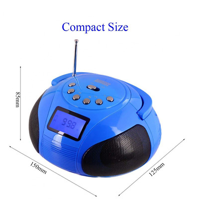 SE20 Mini Bluetooth MP3 Stereo System Portable Radio with Powerful Speaker US