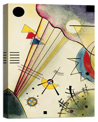 Stampa su Tela Vernice Effetto Pennellate WASSILY KANDINSKY Clear Connection