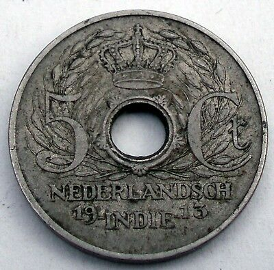 Netherlands East Indies 5 Cents 1913 M4.3