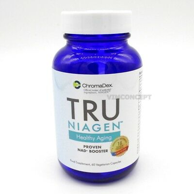 TRU NIAGEN –Healthy Aging Advanced  NAD+ Booster Nicotinamide Riboside ChromaDex