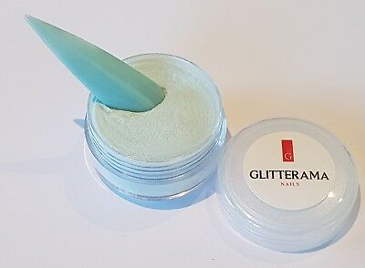 Turquiose blue green coloured acrylic powder Glitterama 4g sweet lush 111