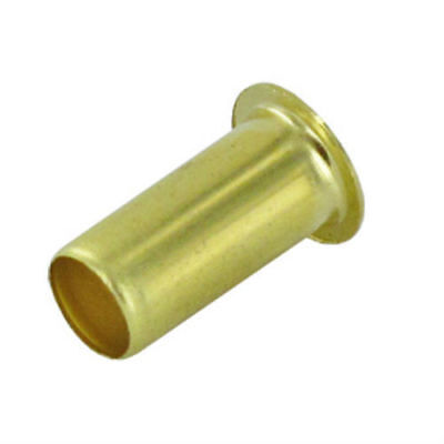 "5 Pack Of Brass Compression Tube Fitting Insert Sleeve 5/8"" OD Unloader Hose"