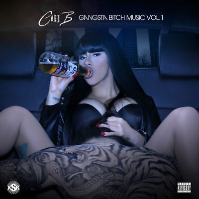 Cardi B - Gangsta Bitch Music Vol 1 Mix Cd