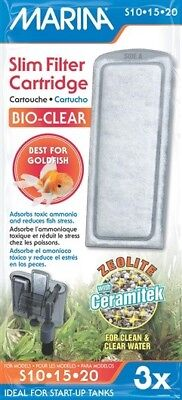 Marina Slim Hang on Power Filter Replacement Cartridge Biocarb BioClear
