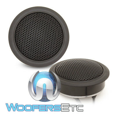 PAIR OF VERY RARE ZAPCO iFORCE 4 OHM SOUND QUALITY CAR AUDIO TWEETERS NEW