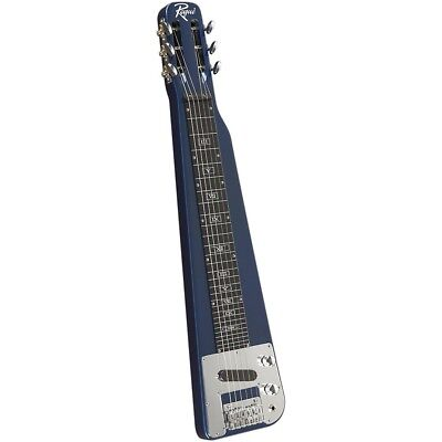 Rogue RLS-1 Lap Steel Guitar with Stand and Gig Bag Metallic Blue