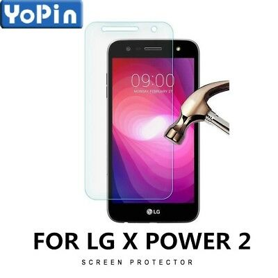 Lot 9H Premium Anti-Scratch Tempered Glass Screen Protector For LG X Power 2