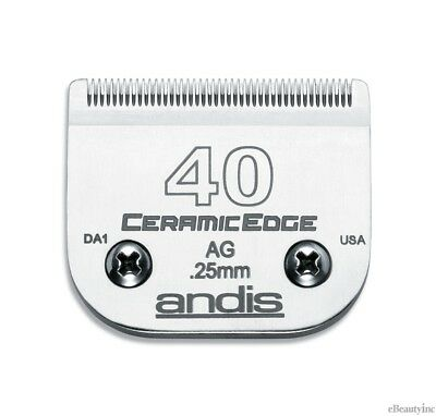 Andis CeramicEdge Clipper Blade #40 Fit Oster 76 A5 - 64265