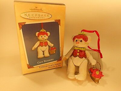 HALLMARK Gift Bearers Keepsake Ornament Collectible 2002 Fourth of Series