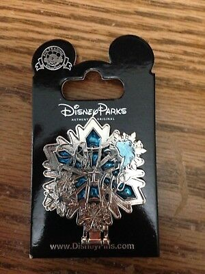 Disney Elsa Frozen Pin Stained Glass Hinged Mirror
