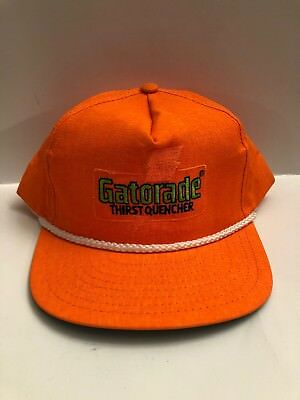 hot sale online 4f558 b87d9 ... australia vintage gatorade thirst quencher orange adjustable jordan snapback  hat cap 6a7db 991cb