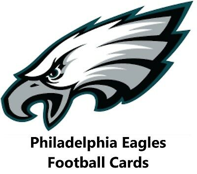 You Pick Your Cards - Philadelphia Eagles Team- Football Card Selection