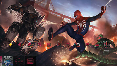 Spider Man PS4 Exclusive Battle Theme | DLC | Playstation 4 PS4 [Digital Code]
