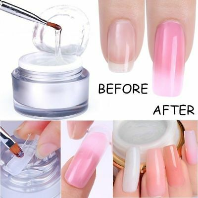 10g Resin Quick Building Hot Clear White UV/LED Gel Extend Nail Art Tips